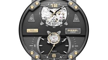 DIESEL全球限量機械錶系列 台灣強勢出擊!