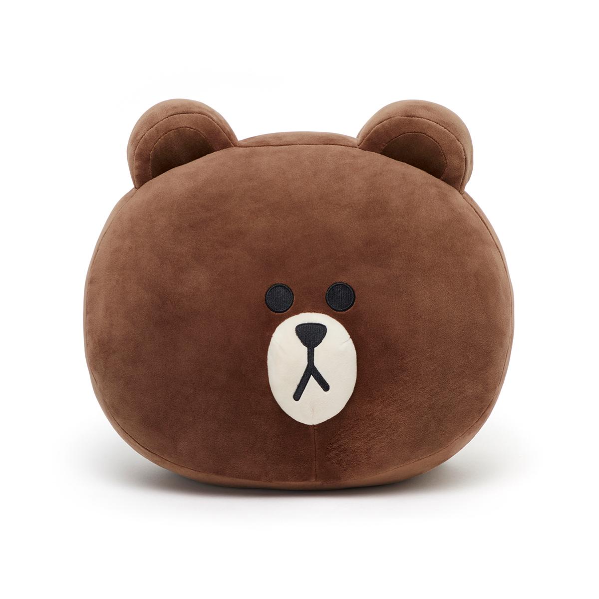 熊大 38CM 軟抱枕 (素顏款)