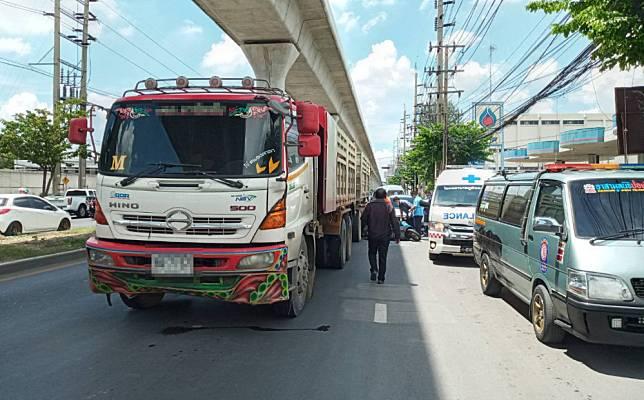 อุบัติเหตุ !!  ถนนพหลโยธิน  มีผู้เสียชีวิต