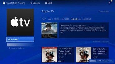 Apple TV 正式上架 PS4 與 PS5 平台