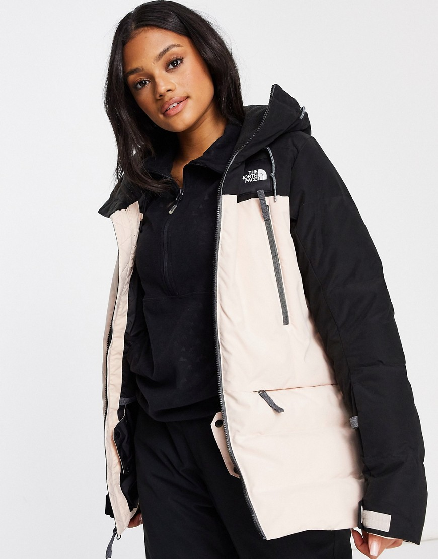 Jacket by The North Face Padded design Drawstring hood with borg lining Zip fastening Zip chest pock