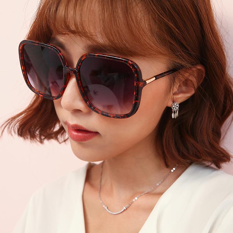 墨鏡推薦 時尚漸層鏡片粗框抗uv太陽眼鏡(三色)【r02083】