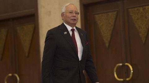 Najib Razak Bacakan Pembelaan Terkait Dugaan Korupsi