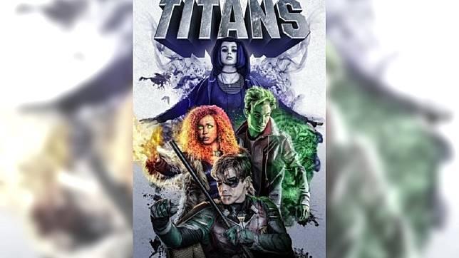 Titans海報。圖/翻攝自Titans推特