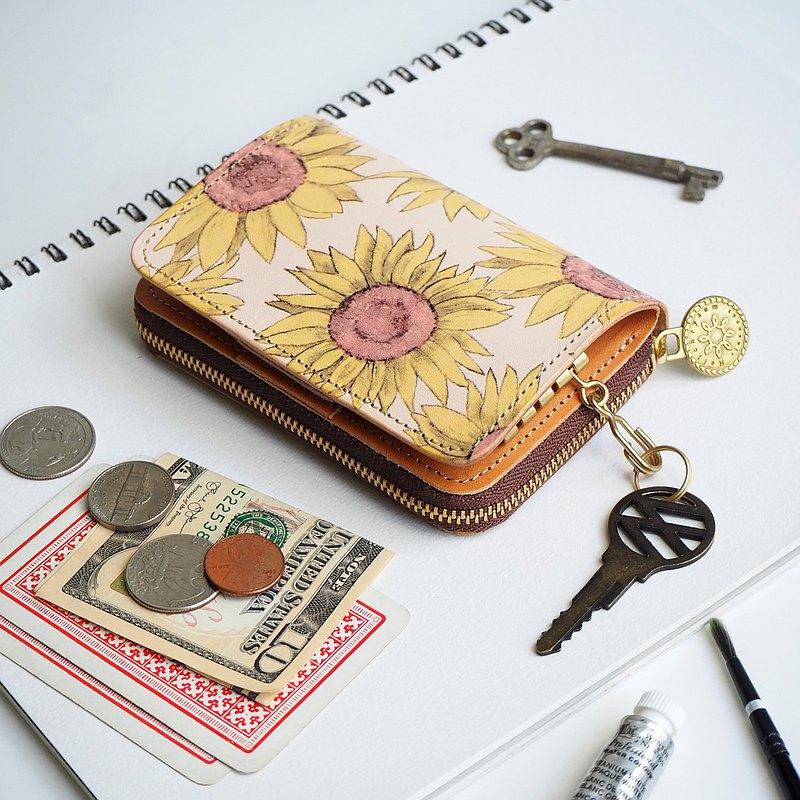 鑰匙包+迷你錢包=鑰匙錢包。 除鑰匙外,它還是一種方便的錢包,可以緊湊的尺寸存放硬幣,鈔票,信用卡等。