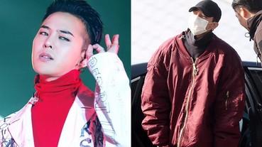 新時尚?G-Dragon 穿著超肥大外套現身機場!