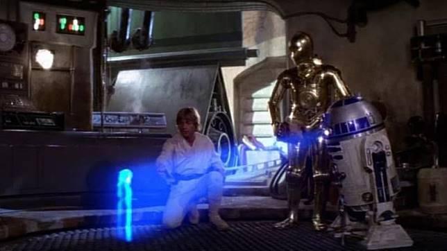 Hologram di 'Star Wars'. (Foto: Star Wars)