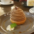 タルトモンブラン - 実際訪問したユーザーが直接撮影して投稿した新宿カフェCoffeeLounge Lemonの写真のメニュー情報