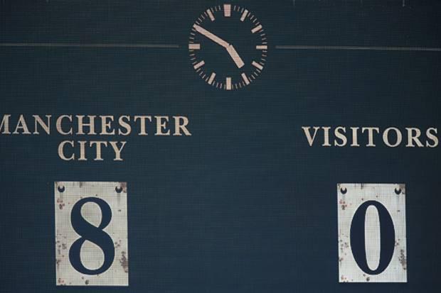 Catatan Fenomenal Manchester City Saat Gunduli Watford