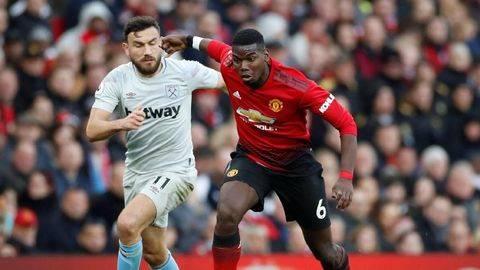 Hasil Liga Inggris: Manchester United vs West Ham 2-1