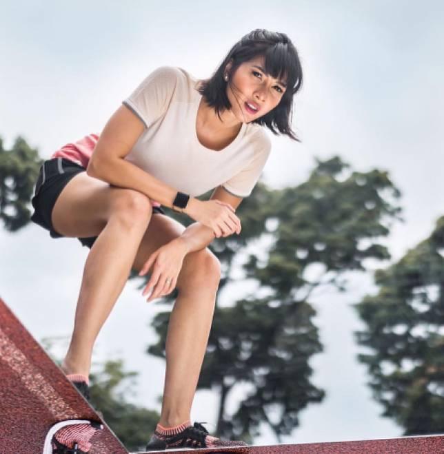 Penampilan Dan Gaya Andrea Dian Saat Olahraga Bikin Gagal Fokus