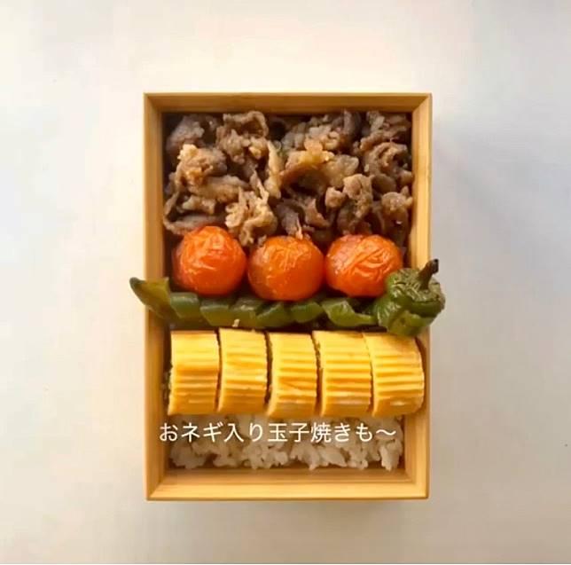 把色彩繽紛的食材排列整齊,令便當的賣相更佳。(互聯網)