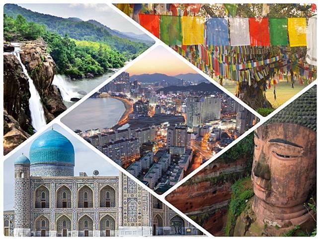 มีเวลาต้องไปเยือน! 10 ที่ท่องเที่ยวที่ดีที่สุดในเอเชียจากการจัดอันดับของ Lonely Planet