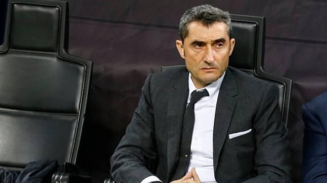 Pelatih Barcelona, Ernesto Valverde. [Shutterstock]