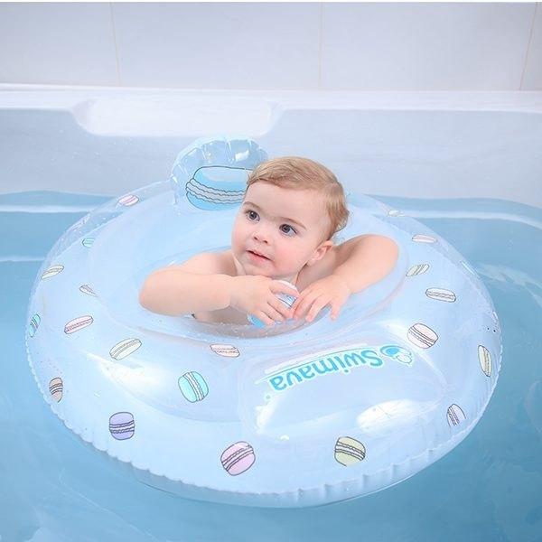 【原廠正貨】底部有靠底,寶寶玩水安全感加倍!
