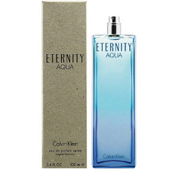 CK Eternity AQUA 永恆之水 女性淡香精 100ml Tester環保包裝【娜娜香水美妝】Calvin Klein S8X058