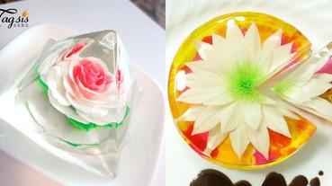 只放不吃?因為捨不得吃掉呀!「花之果凍」蛋糕就是藝術品本尊喔!