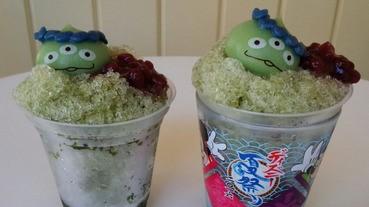 呃Like必備:東京迪士尼綠色部隊刨冰