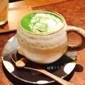 抹茶ミルク - 古書と茶房 ことばのはおと,コショトサボウ コトバノハオト(天神北町/カフェ)のメニュー情報
