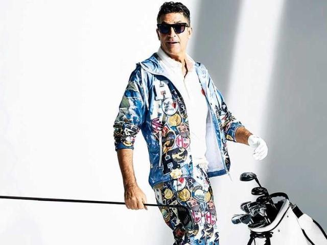 538b5093818 ゴルフを楽しみ上手に見せるやんちゃなマリンスタイル! (LEON)