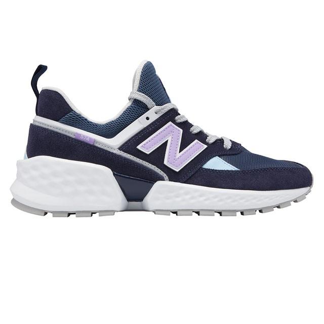 【New Balance】休閒復古鞋 MS574GNA 中性 深藍
