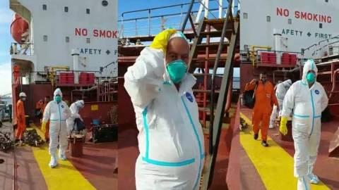 Berlabuh di Dumai, Kapten Kapal Warga Negara India Positif COVID-19