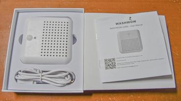 【旅行出差好物推薦-WASHWOW 微型口袋旅行便攜電解洗衣機全新3.0版本】