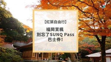 【紅葉自由行】福岡賞楓 別忘了SUNQ Pass巴士券!