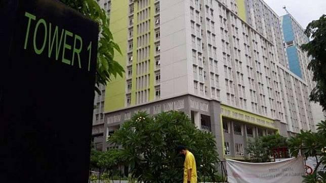 Rumah Sakit Darurat COVID-19 (RSDC) Wisma Atlet Kemayoran, Jakarta Pusat.