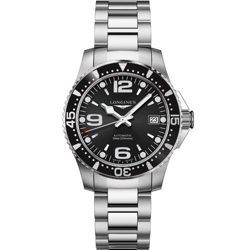 原廠公司貨鎖牙潛水龍頭單向旋轉錶框藍寶石水晶鏡面具備潛水300米功能料號:L37414566