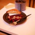 あんバタースコーンサンド - 実際訪問したユーザーが直接撮影して投稿した戸山カフェアンク コーヒースタンドの写真のメニュー情報
