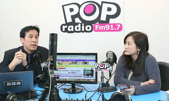 高雄市前新聞局長、韓國瑜競選辦公室總發言人王淺秋,接受廣播媒體專訪。