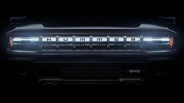 Teaser Hummer listrik (GMC/YouTube)