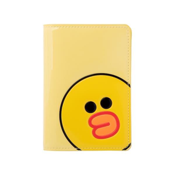 莎莉 亮面立體造型護照套