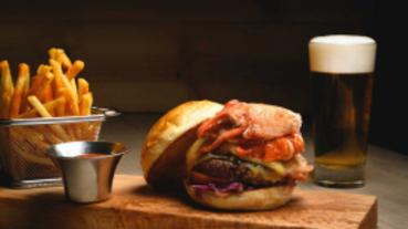 國際漢堡日 大口吃堡堡