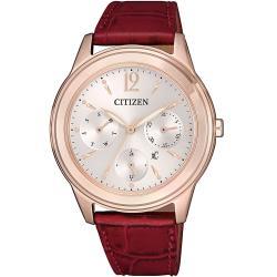 ◎原廠公司貨,光動能,料號:FD2062-03A ◎HEBE廣告款,藍寶石水晶鏡面 ◎日期 / 星期 / 24小時制顯示品牌:CITIZEN星辰型號:FD2062-03A使用族群:女錶手錶特性:三眼錶