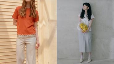 越簡單的風格越具備印象度!選搭素面上衣利用設計小細節連結魅力氣質