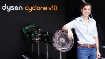 Dyson 在美麗華打造放大 137 倍的巨大 Dyson 吸塵器,將在全台巡迴展演 Dyson V10 特色