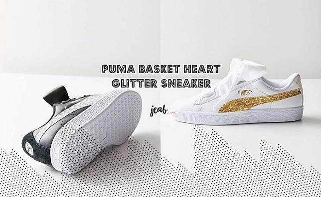 "Glitter Sneaker ""ก น่ารักเหมือนเดิม แต่เพิ่มเติม Puma Basket Heart WQdBoreCx"