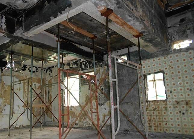 李小龍故居復修時遇上技術困難,業主有意將大宅重建。(受訪者提供)