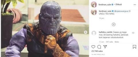 Akun Instagram Sule Diserbu Netizen: Pelawak Kok Baperan (2)
