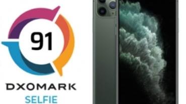 DXOMark 前鏡頭自拍測試 iPhone 11 Pro Max 上榜