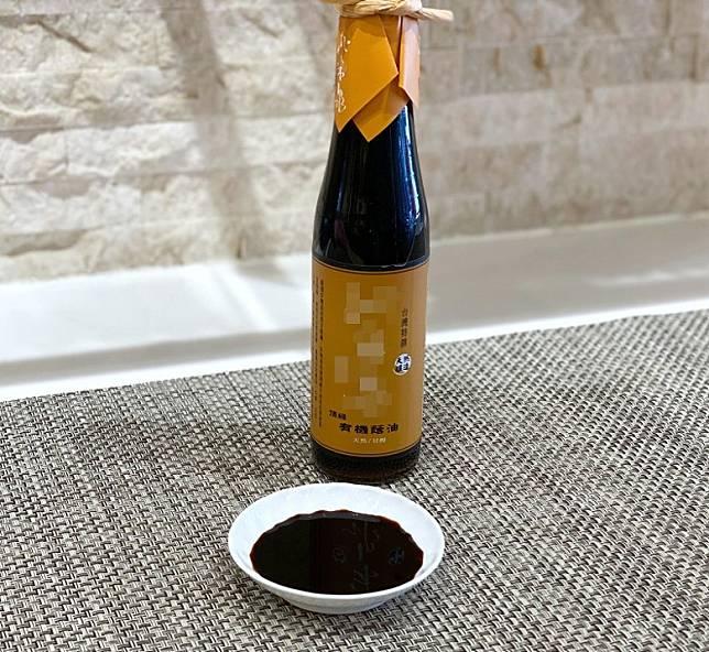 蔭油味道不會死鹹,Aftertaste還帶股甜味。(受訪者提供)