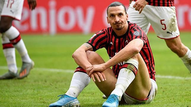 Dampak Kekacauan Internal AC Milan, Zlatan Ibrahimovic Jadi Korban