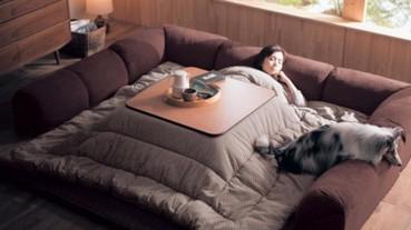 【懶骨頭】「史上最墮落沙發床」一躺就黏住!懶人必備小物大集合 就是要懶到極致