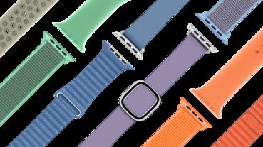 除了 iPad、iMac、AirPods,蘋果也更新了 Apple Watch 錶帶
