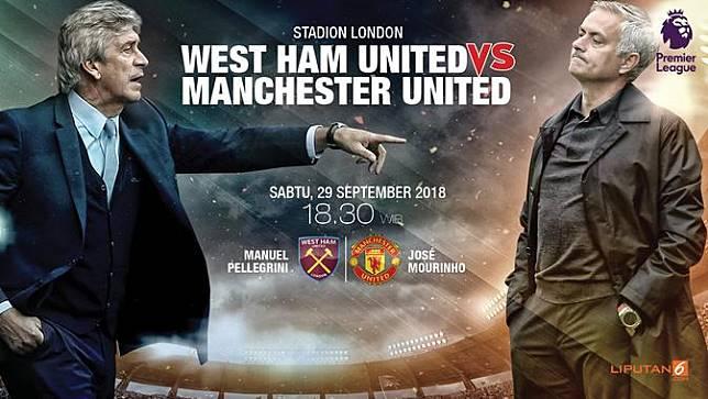 Prediksi West Ham United Vs MU: Dibayangi Konflik Mourinho-Pogba