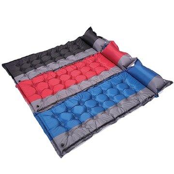 21點 5cm加厚加大 自動充氣墊 自動充氣床墊 露營睡墊 送背袋 20632