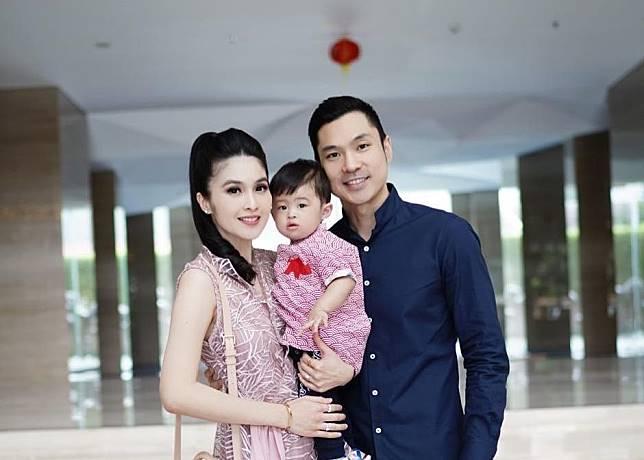 Keluarga Sandra Dewi dan Harvey Moeis