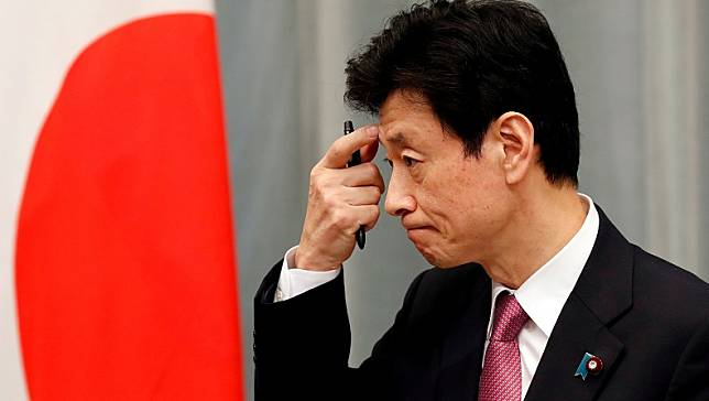 Menteri Ekonomi Jepang, Yasutoshi Nishimura. (Foto: Reuters)